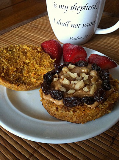 Healthy carrot cake english muffin forumfinder Image collections