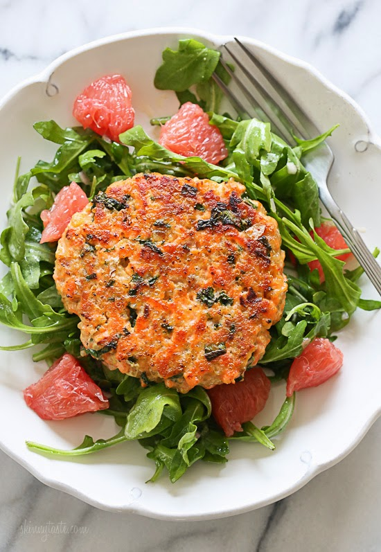 how to make healthy salmon fish cakes