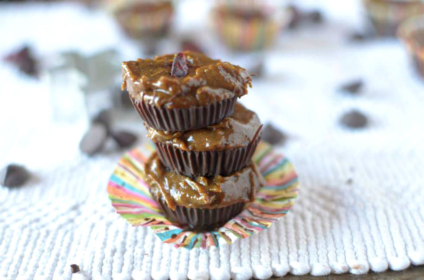 These Chocolate Gingerbread Cups are a seasonal take on the classic Reese's Peanut Butter Cup. These could not be easier to make and would be a great addition to your family's cookie tray!