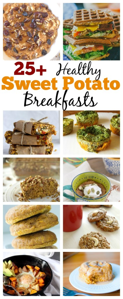 sweet potato breakfast recipes