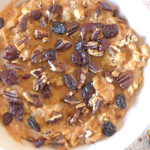 sweet potato spice oatmeal 5
