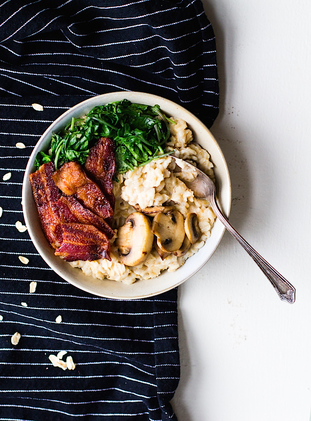 Savory-Oatmeal-with-Garlicky-Greens