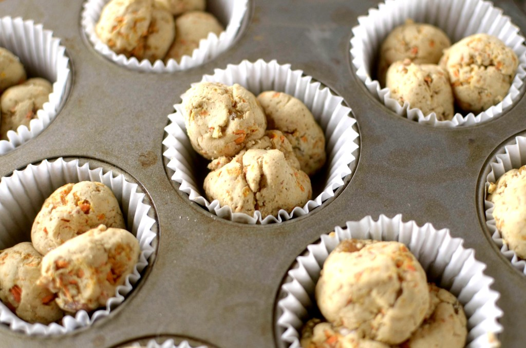 You won't believe how easy and tasty these Paleo Carrot Cake Monkey Bread Muffins are! They are also Vegan, gluten-free, grain-free with a dairy-free option!
