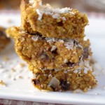 Pumpkin Coconut Breakfast Bars