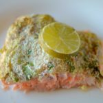 Simple Almond Cilantro Lime Crusted Salmon 3
