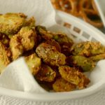 Pretzel Crusted Honey Mustard Brussel Sprouts 4