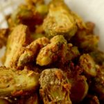 http://athleticavocado.com/2016/05/25/honey-mustard-pretzel-crusted-brussels-sprouts/