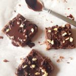 Paleo Nutella Fudge Bars