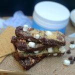 No Bake S'mores Protein Bars 1