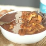 German Chocolate Cake Protein Smoothie Bowl 5