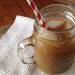 honey almond iced coffee
