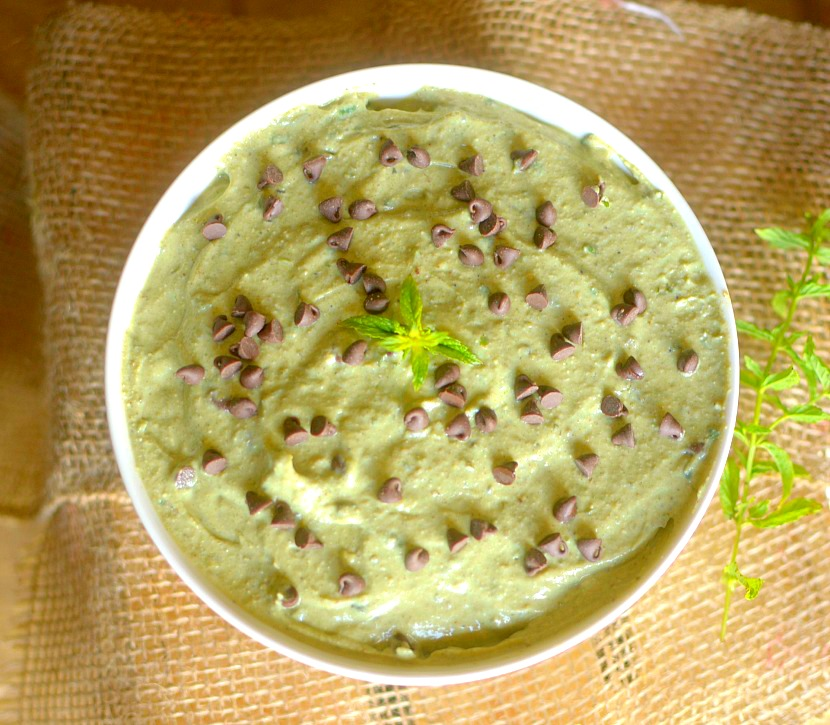 Sick of prepackaged protein bars and shakes for a post workout snack? Make this 5 ingredient Mint Chocolate Chip Protein Mousse! It's packed with protein and taste like dessert at the same time!