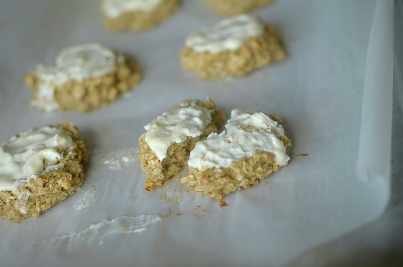 Soft-Baked Banana Maple Oatmeal Cookies are a healthy and delicious breakfast or snack loaded with protein and whole grains. Also gluten-free and vegan!