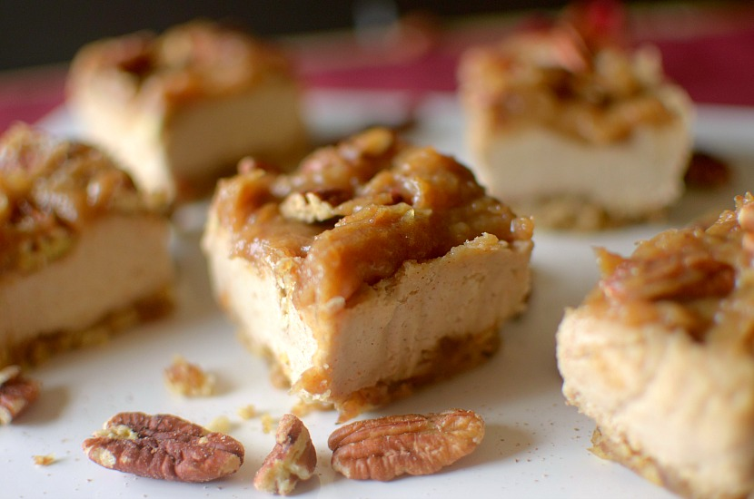 Sticky Bun Vegan Cheesecake is completely raw, made with just a few ingredients and one healthy and delicious holiday dessert! Also paleo and gluten-free!