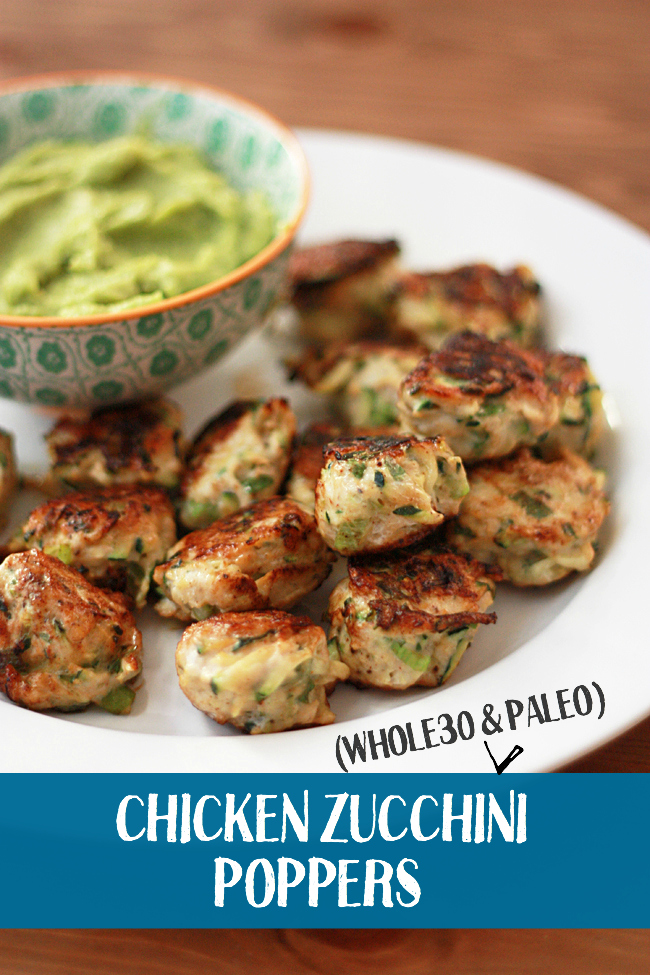 Chicken Zucchini Poppers Wtxt Clean And Healthy Eating Recipes By