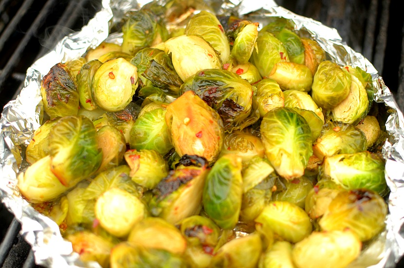 Be prepared to become addicted to these Chili Lime Grilled Brussels Sprouts! So flavorful and drool-worthy, you'll want them on repeat! Also whole30, vegan + paleo friendly. #cookwithpurpose #grillthegoodness