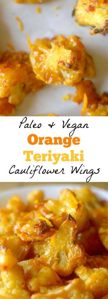 Orange Teriyaki Cauliflower Wings will be your new favorite way to enjoy the versatile veggie! They are a crowd-pleasing favorite! {Vegan + Paleo}